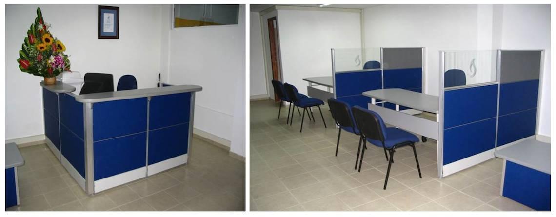 Divisiones para oficina for Construccion de oficinas modulares